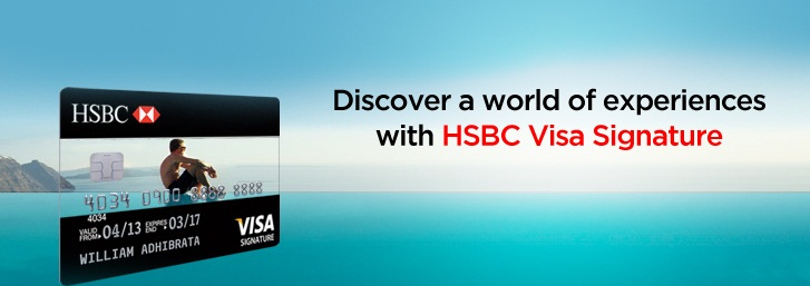 HSBC Credit Card Signature